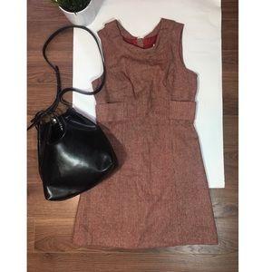 BB Dakota Red Wool Mini Dress